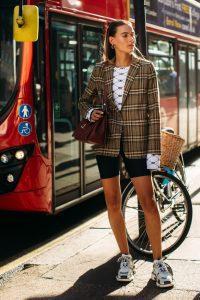 bike shorts fashion trend