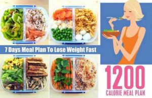Plan to Lose Weight on 1200 Calories a Day